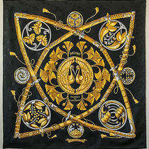 Hermes Silk Scarf / Beautiful Photo