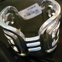 Hermes Sterling Silver Cuff Bracelet 48mm Lmt. Edition New With Tags Photo