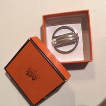 Hermes Sterling Silver Money Cllip With Box Photo