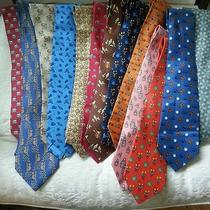 Hermes Tie Collection  Photo