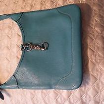 Hermes Turquoise Shoulder Bag Photo
