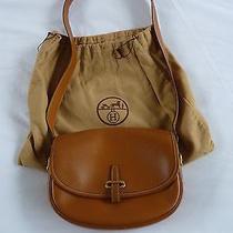 Hermes Vintage Balle Du Golf Bag  Gold Color  Photo