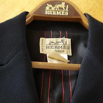 Hermes Womens Equestrian Blazer With Hermes Hanger Photo