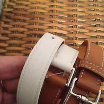Hermes Wrap Bracelet Cuff Etriviere 4 Tour Brown Gold White Palladium 1035 New Photo