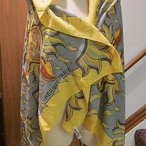 Hermes Yellow Sunshine Cotton Wrap   Photo