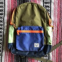 Hershel Kids Crewcuts J Crew Multi Color Block Zipper School Backpack Book Bag Photo