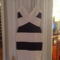 Herve Leger Black/white Dress Photo