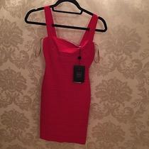 Herve Leger Red Dress New With Tags Photo