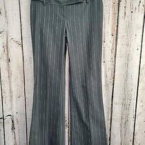 Hhp Women's Size 4 Tall Body by Victoria Christie Fit Pinstripe Dress Pants Euc Photo