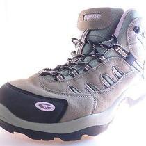 Hi-Tec Bandera Mid Womens Hiking Boots Waterproof Taupe/blush Size 7.5 M Photo