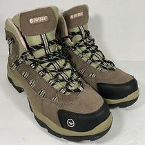 Hi-Tec Womens Bandera Mid Waterproof Hiking Boots Taupe Blush 24045 Size 11 Photo