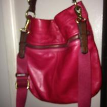 High End Leather Fossil Cross Body Bag  Photo