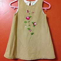 High-End Lined Baby Toddler 6-12m Flower Flower Sun Summer Dress New Clothes Nr Photo