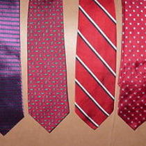 High End Power Tie Ties Lot Brooks Brothers Yves Saint Laurent and More Silk Photo