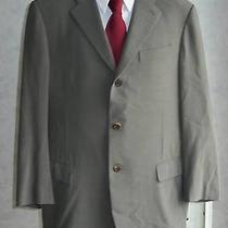 High End Slade Gray Pure Wool Dkny Sport Coat Blazer Jacket Free Tie Italy 40r Photo