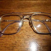 High End Vintage Tiffany Eyeglasses Jimmy Frame France Bourgeois 130  Gold Tone Photo