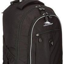 High Sierra Chaser Backpack Rollers College Wheels School Black Photo