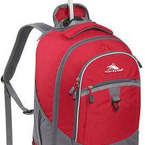High Sierra Chaser Wheeled Book Bag Backpack - Carmine Red Photo