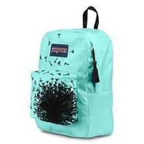 High Stakes Jansport Nwt Backpack Aqua Black Velvet 1550 Cubic in Trs703z Photo