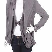High Use by  Claire Campbell  Cotton Cardigan Cotton Cardigan Size L Photo