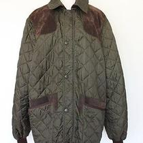 Hing-End Hunter Green Quilted Barbour Jacket  Photo