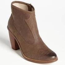 Hinge 'Addison' Bootie Burnished Leather Western Sz 9.5 New Photo