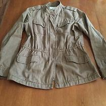 Hinge Expedition Cotton Jacket Utility Small Tan Anthropologie Photo