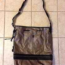 Hinge Metalic Gray and Black Large Bag Photo
