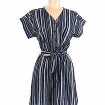 Hint of Blush Women Blue Casual Dress M Photo