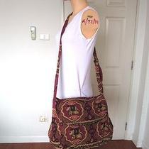 Hippie Hobo Elephant Thai Woven Shoulderbag Handmade Purse Tote Adjustable Strap Photo