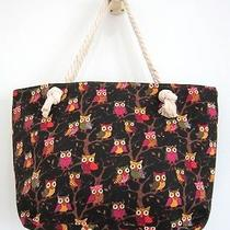 Hippie Hobo Owl Tote Bag Shoulder Shopping Bag Purse Handmade Women Travel  Photo