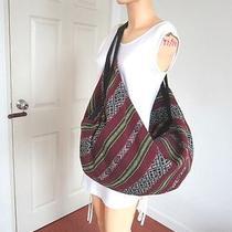 Hippie Hobo Shoulder Bag Thai Woven Backpack Travel Crossbody  Tote Women Men Photo