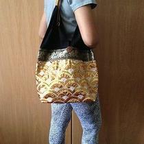 Hippie Hobo Shoulder Bag Yaam Thai Orange Crossbody Free Shipping  Small Purse Photo