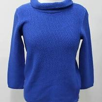 Hobbs Ladies Midnight Blue Camilla Knitted Long Sleeve Sweater Jumper Uk Xl New Photo