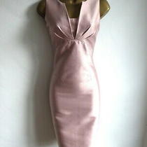 Hobbs London Pink Blush Shift Dress Size 8 Photo