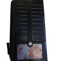 Hobo Black European Slide Wallet Photo