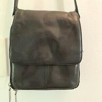 Hobo Black Leather Purse Photo