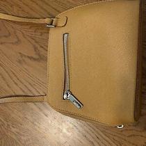 Hobo Brand Leather Camilla Saffron Purse Crossbody Photo
