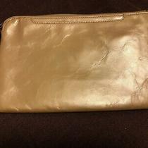 Hobo - Clutch With Handle- New With Tag  Gold Dust 10.5 X 7  Photo