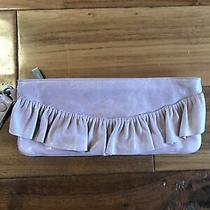 Hobo Distressed Pink Leather Clutch Wallet Wristlet Purse Photo