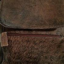 Hobo International Backpack Bag Antique Distressed Brown Leather Hardly Used Photo