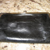 Hobo International Black Leather Wallet   Photo