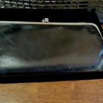 Hobo International Black Silver Leather