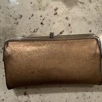 Hobo International Bronze Leather Lauren Clutch Wallet Photo