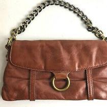 Hobo International Cognac  Chain Strap Clutch Wristlet Wallet  Photo
