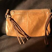 Hobo International Convertible Crossbody Clutch Wristlet Orange Photo