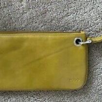 Hobo International Gold Leather Wrisle/clutch Nwot Photo