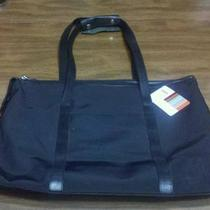 Hobo International  Handbag Purse Tote Shoulder Bag Black Gray Inside Photo