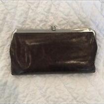 Hobo International Lauren Brown Leather Wallet in Great Condition Photo
