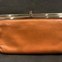 Hobo International Lauren Clutch Wallet (Orange) Photo